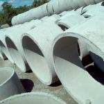 Aduelas de concreto para esgoto