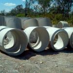 Anel de concreto para poço