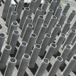 Tubulação de concreto
